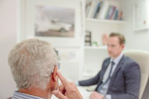 hearing aid consultation