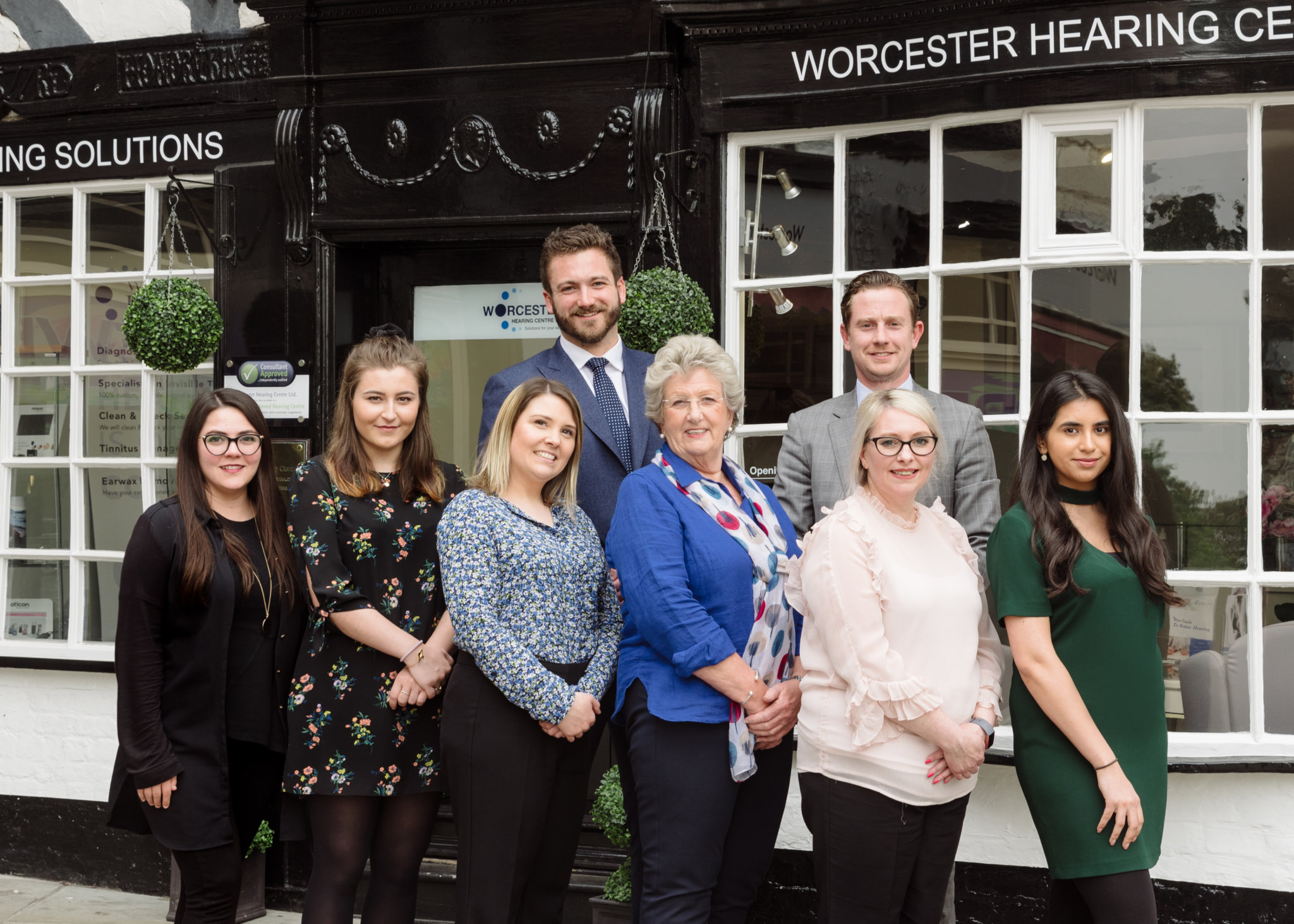 The team at Worcester & Stratford Hearing Centres