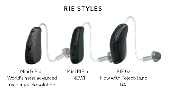 Quattro Receiver In Ear hearing aids