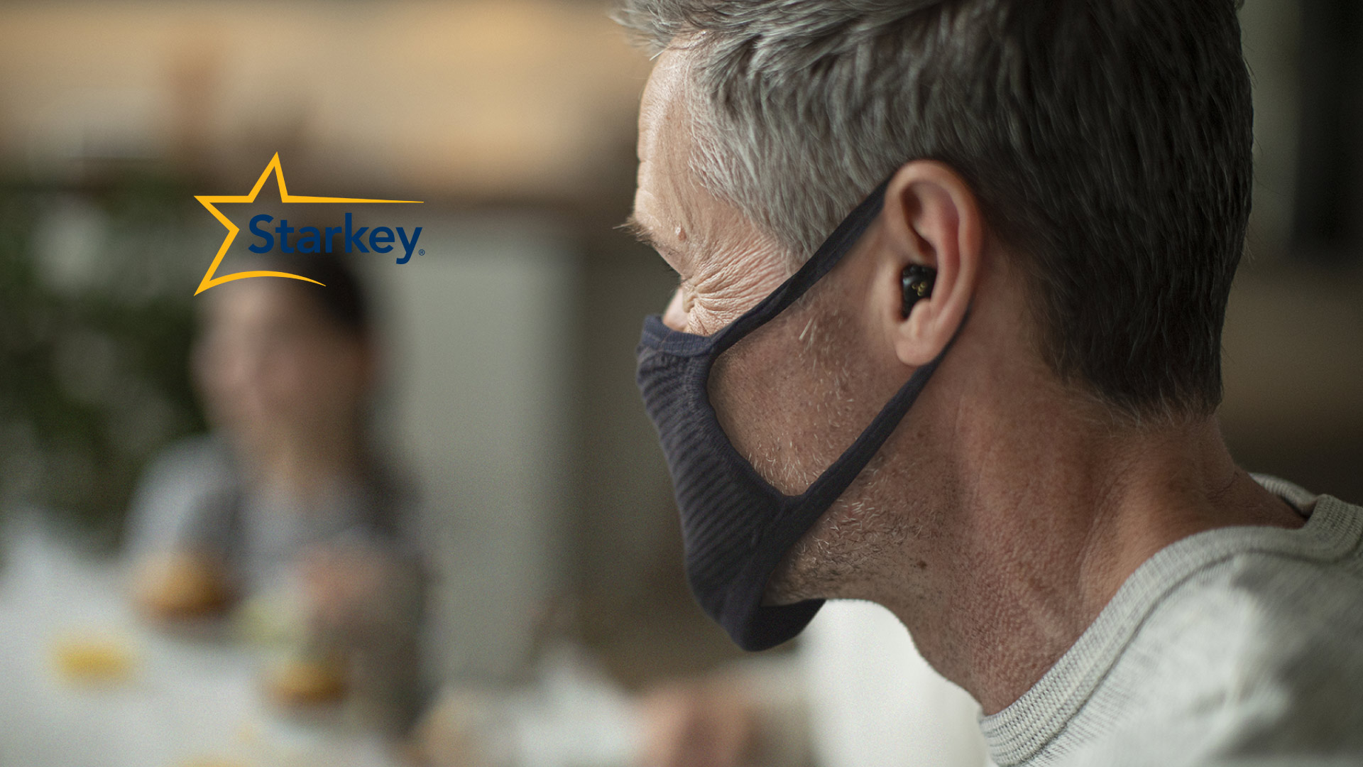 Starkey Livio Edge AI doesn't interfere with face masks